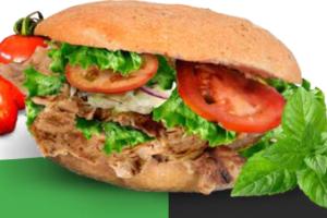 Wereldrecordpoging Vegan Döner Kebab eten