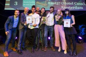 East57 dankt derde plek aan 'verbeterde Koffie Top 100'