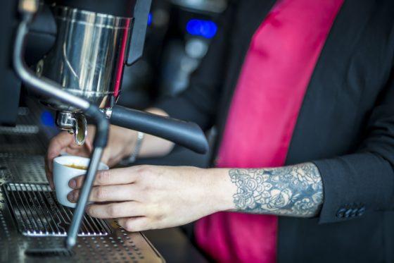 280818, Den Haag: Koffie Top 100 2018, Capriole Cafe te Den Haag. Foto: Marcel van Hoorn.