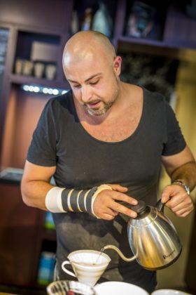 280818, Amsterdam: Koffie Top 100 2018, East57, Hotel Casa te Amsterdam. Foto: Marcel van Hoorn.