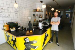 Lex Wenneker start nieuwe koffiebar in Amsterdam: Fuku