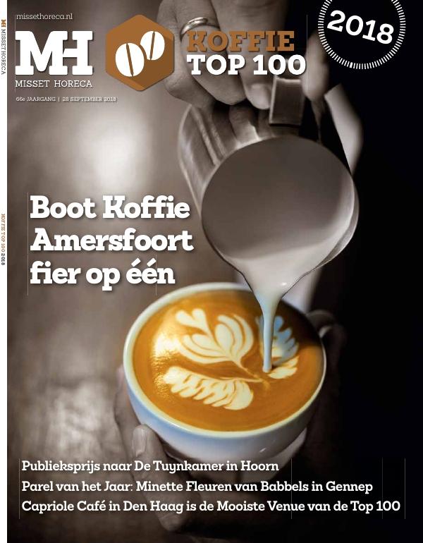 Misset Horeca Koffie Top 100 2018