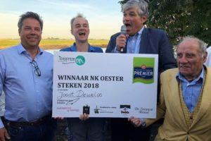 Joost Deurloo wint NK Oestersteken