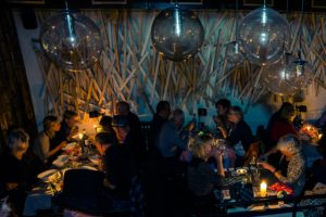 Restaurants doven licht tijdens de Nacht van de Nacht
