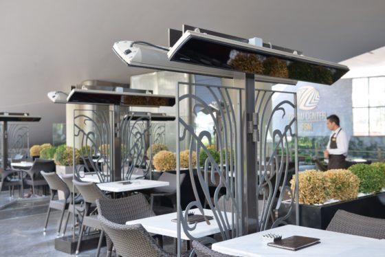Verleng het terrasseizoen met terrasverwarmers