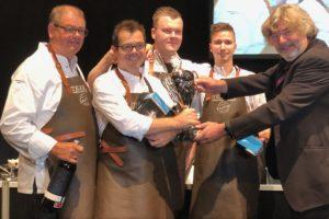 Michel van der Kroft wint met team Nederland Palingbokaal 2018