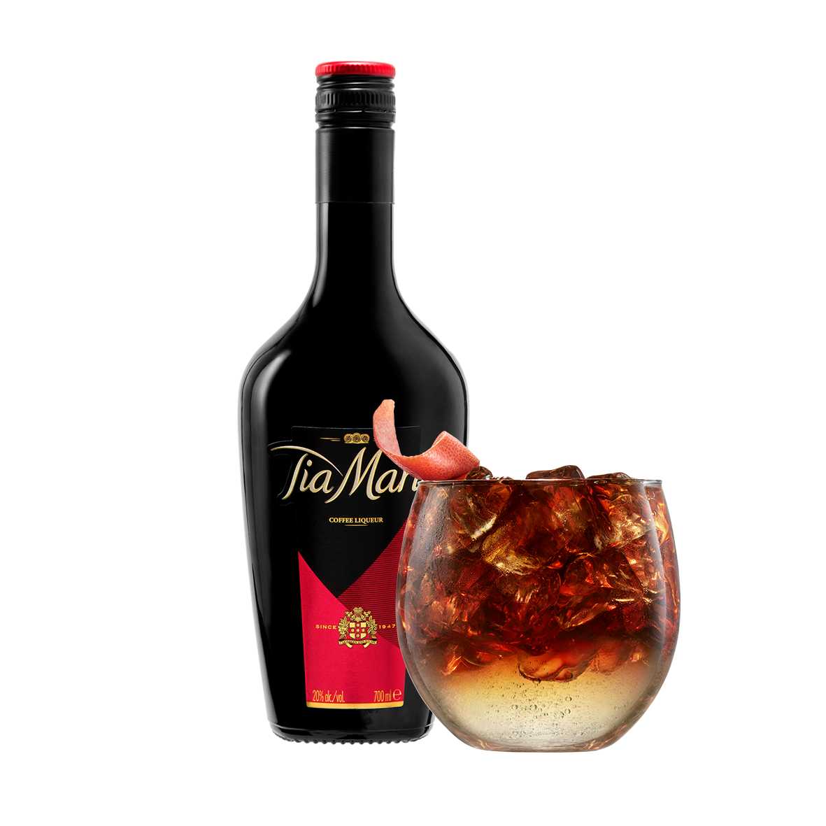 Andere koffiecocktail van Tia Maria
