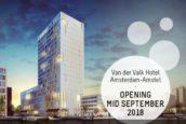 Eerste Van der Valk hotel  binnen ring Amsterdam opent boekingskanalen
