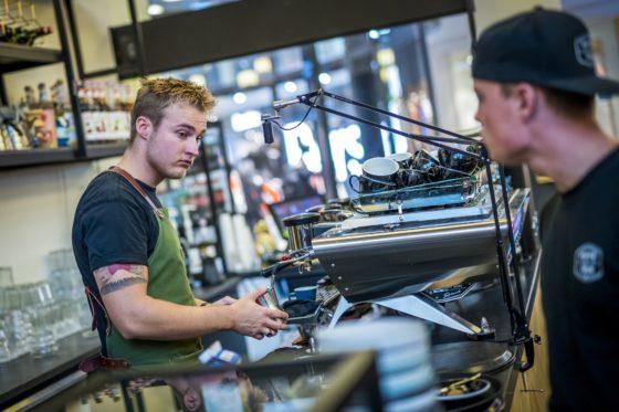 290818, Breda: Koffie Top 100 2018, Koffie bij Teun te Breda. Foto: Marcel van Hoorn.