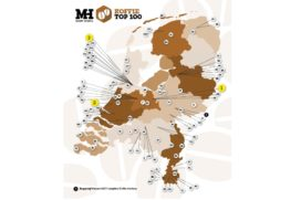 Koffie Top 100 2018: Provinciewinnaars en categoriewinnaars
