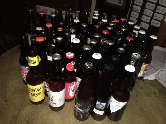 Alle ingezonden  bieren.