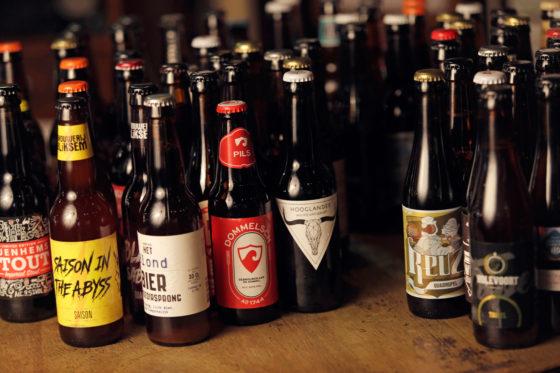 Ruim zeventig bieren werden voor de jurering ingestuurd.