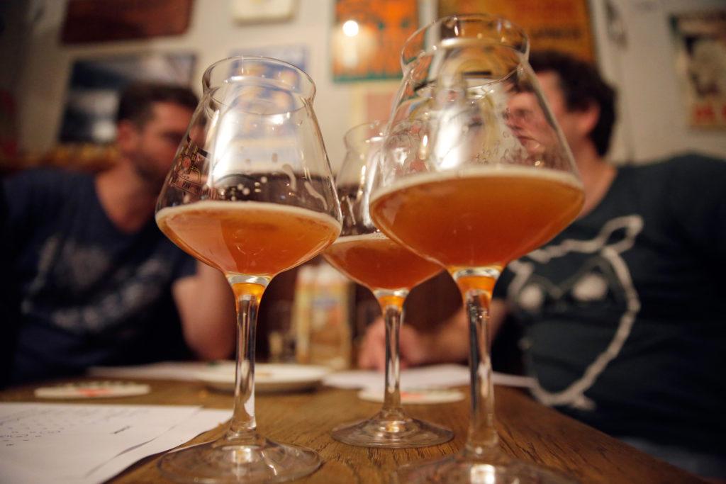 Van alcoholvrij en pils tot trippels en stouts; de variatie was weer groot.