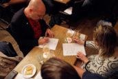 Foto's: jury proeft en beoordeelt bieren Brabantse Bierkaart