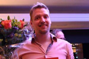 Siep de Vries van De Stripe is Meest Markante Horecaondernemer Friesland 2018/2019