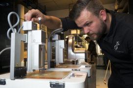 Jan Smink pioniert met 3D-printen in Wolvega
