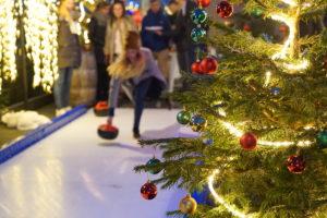 IJshockeybaan op dak Ramada Apollo Amsterdam Centre
