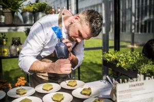 ChefFriedjof Kempenaar verzorgt volledig veganistische evenementen