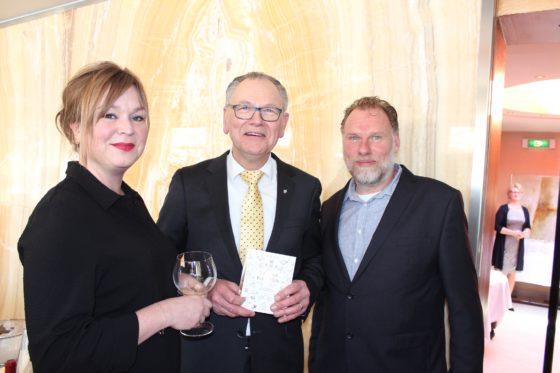 Peter Bruins bij de aftrap van het 50-jarig  jubileum van de Alliance Gastronomique.