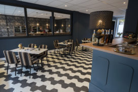 Horecainterieur: Harries Wine & Deli in Rotterdam