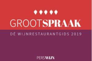 Grootspraak awards voor O&O, restaurant 212 en Wijn bij Stijn