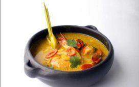 Recept Vis & Seizoen: Gamba's in Thaise gele curry