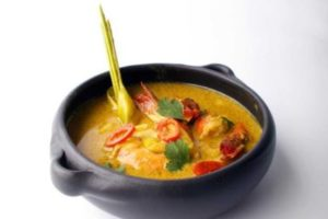 Recept Vis & Seizoen: Gamba's in Thaise gele curry