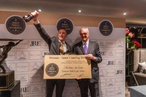 Sébastian van Zuiden wint Nationale Hennessy Gastvrijheidsprijs