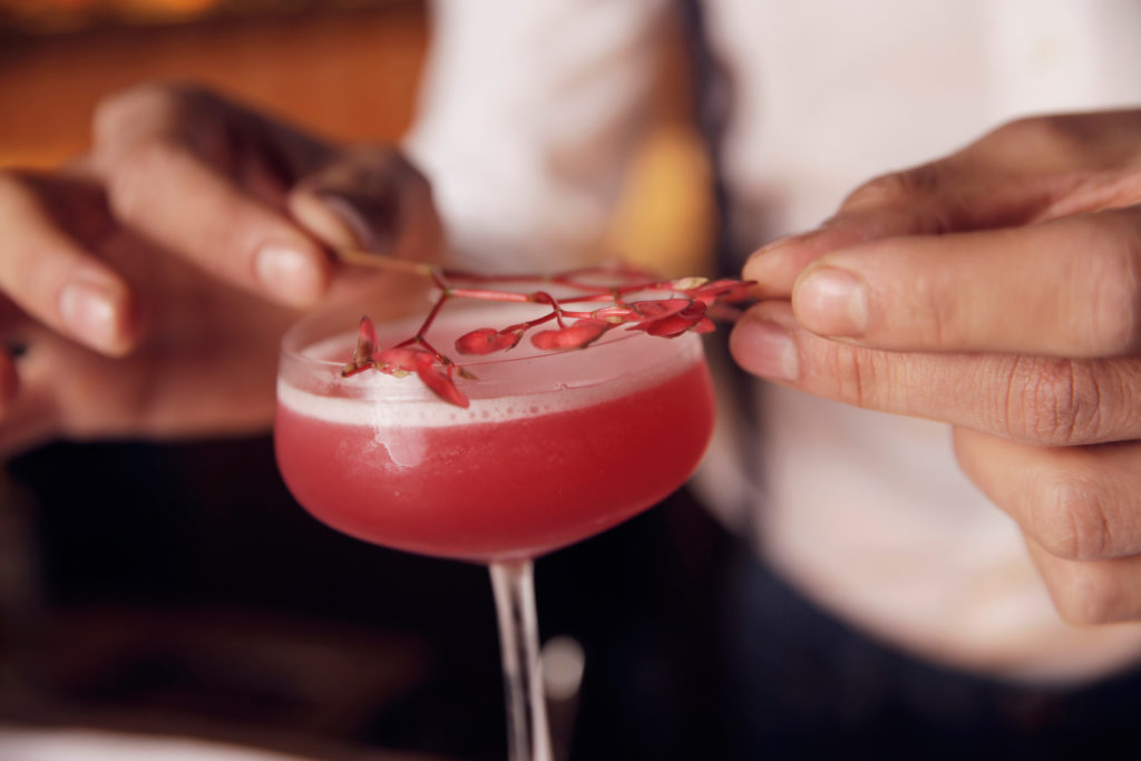 Cocktail Jackie Rose van Andrei Talapanescu van Pulitzer's Bar