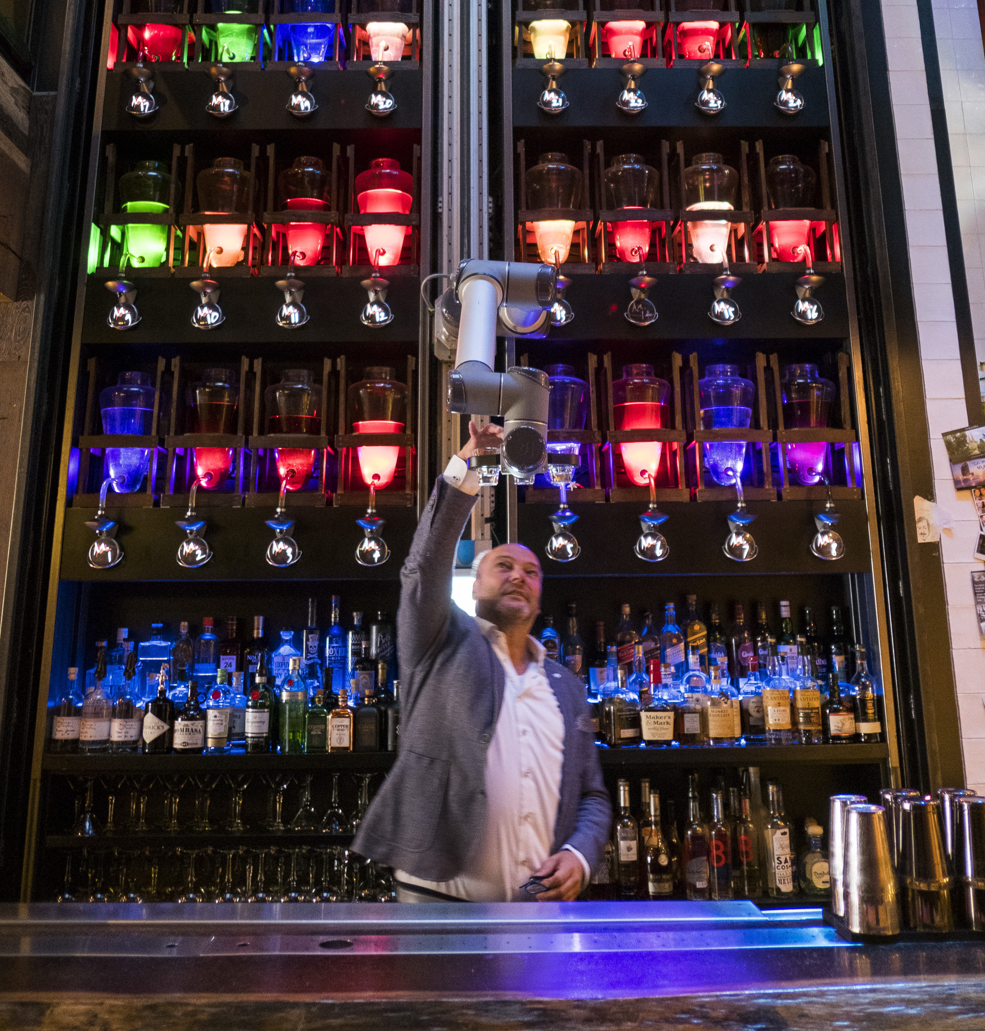 bar robotarm