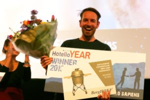 Joost Rietveld van Too Good To Go is Hotello of the Year 2019