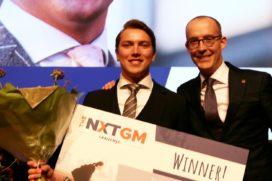 Justus van Dam wint baan als general manager in Nxt GM Challenge
