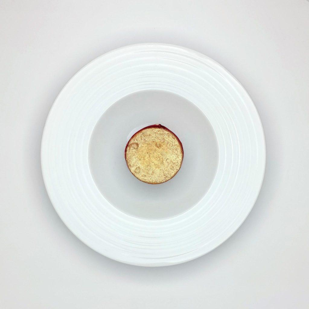 Dessert Bord'Eau Bronzen Koksmes
