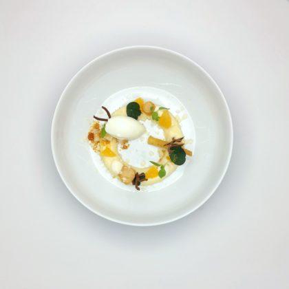 Dessert De Kromme Dissel Bronzen Koksmes