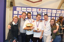 Team Merlet wint Gouden Koksmuts 2019