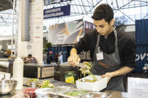 Talal Hasan wint Lekkerste Lunchgerecht On the Move