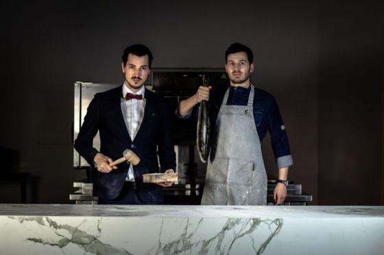 De Spijsveiling in 's-Hertogenbosch ''s werelds eerste veilingrestaurant'