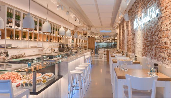 Nieuwe look voor The Seafood Bar