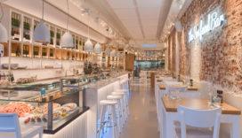 Nieuwe look voor The Seafood Bar aan de Van Baerlestraat