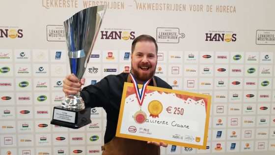 Titel Lekkerste Hamburger wéér voor Laurentz Craane