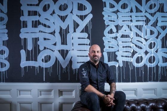 Cucina del Mondo wordt restaurant Graffiti met Servais Tielman als culinair adviseur