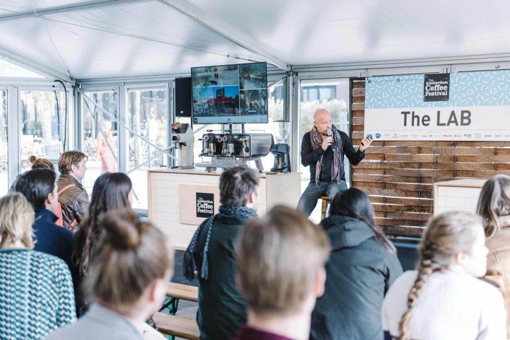 The Lab op Amsterdam Coffee Festival 2019