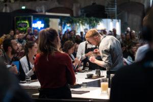 Deelnemers Nederlandse koffiefinales op Amsterdam Coffee Festival 2019