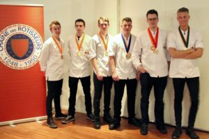 Jelle Horst wint Jeunes Chefs Rôtisseurs Competition 2019