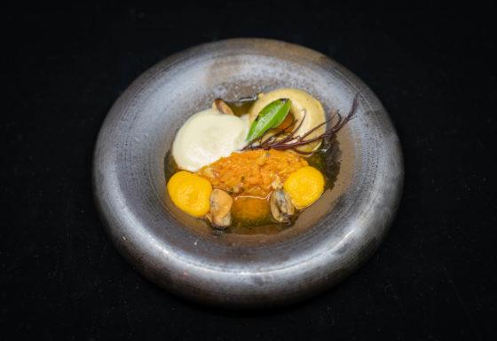 Mossels-wortel-vadouvan