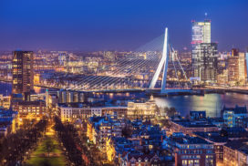 Steeds meer hotelovernachtingen in Rotterdam