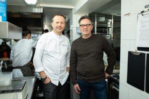 Vier chef-koks over hun overstap naar catering