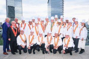 Talentvolle chefs strijden in kookwedstrijd Chaîne des Rôtisseurs