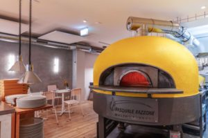 Horecainterieur pizzeria nNea Amsterdam