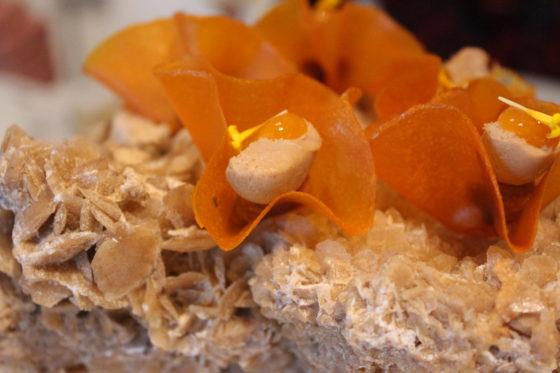Foie, amlou, wortel, sinaasappel